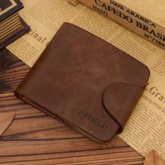 Hot-selling! Crazy Horse Skin Mens Wallets JINBAOLAI Wallet For MenDesigner Brand Purse Small Man Wallet Mens Coin Purse
