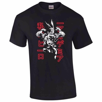 iGPrints My Hero Academia Classic Shadowed Design T-Shirt (Black)