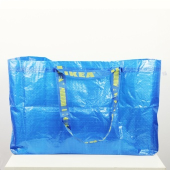 Ikea Frakta Sack Grocery Laundry Shopping Tote Bag