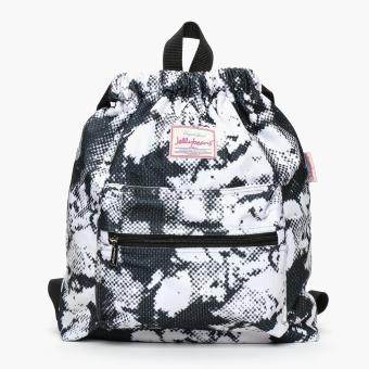Jellybeans Ladies Ink Blot Backpack (Black)