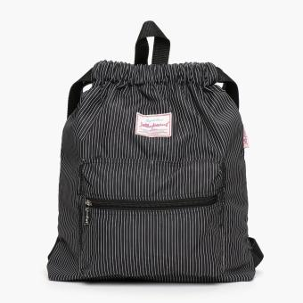 Jellybeans Ladies Striped Backpack (White)