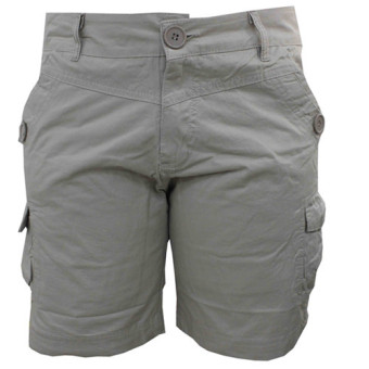 JINMOSS JM-2422 Casual Short 6 Pocket Plain (Apricot)