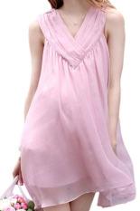 PHP 667. LALANG Chiffon Maternity Mini Dress Sleeveless PinkPHP667. PHP 760. Small Wow Maternity Daily Round Print chiffon Loose Above Knee Dress Multicolor ...