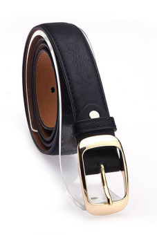 leather belt black lazada ph