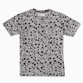 LOYAL Blot Pattern Tee in Gray