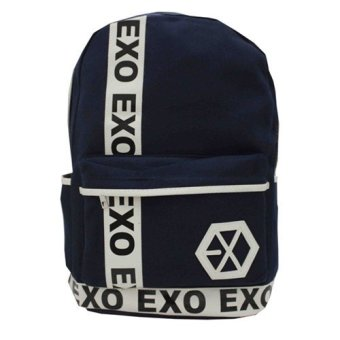 MEMC MM-1019 Exo Backpack Bag (Navy Blue)