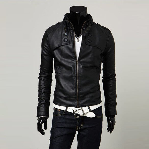 Leather Jackets for Men for sale - Mens Leather Jackets brands ...
