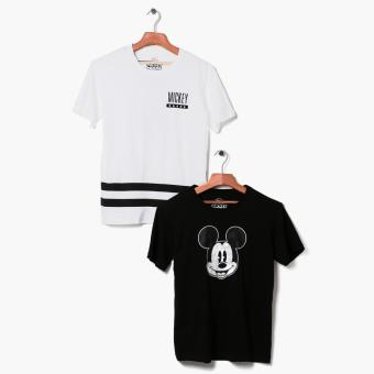Mickey Mouse 2-piece Teens Graphic Tee Set (S)