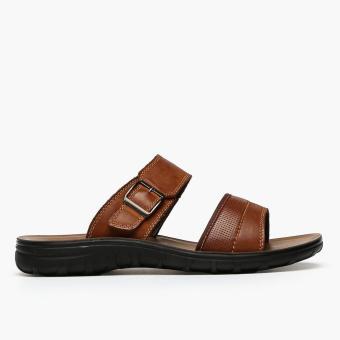Milanos Mens Errol Sandals (Brown)
