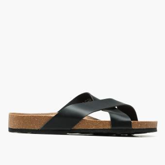 Milanos Mens Mark Sandals (Black)