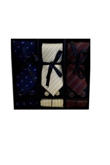 Necktie Gift Set B Bundle of 3