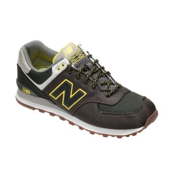 new balance ml574exbd expedition pack mens running shoes moss green yellow lazada ph