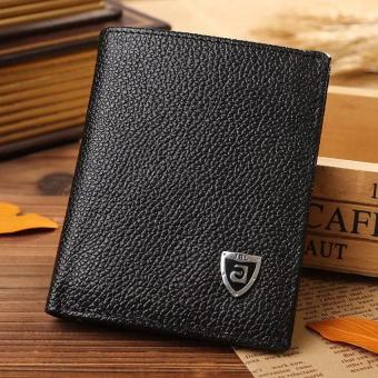 New Promotion Men's Wallets Slim Small Size Mini Genuine Leatherwallet Credit Card Holder bag small purse for men Clutch wallet