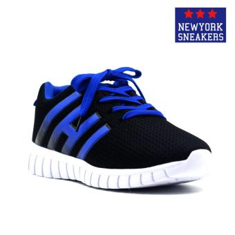 New York Sneakers Ailse Rubber Shoes(BLACK/BLUE)