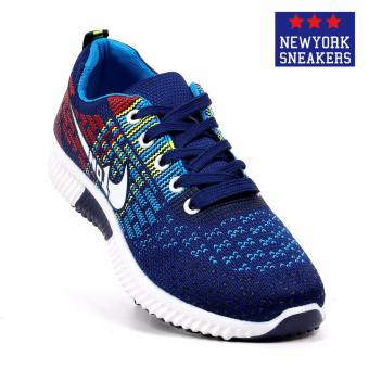 New York Sneakers Aiyana Rubber Shoes(BLUE)