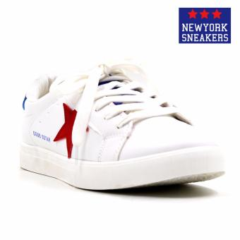 New York Sneakers Alastair Rubber Shoes(WHITE/BLUE/RED)