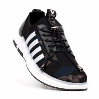 New York Sneakers Graeme Rubber Shoes(BLACK/BLUE)