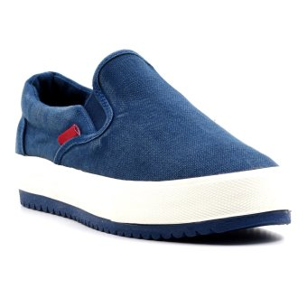 New York Sneakers Mia Slip On Shoes(NAVY)