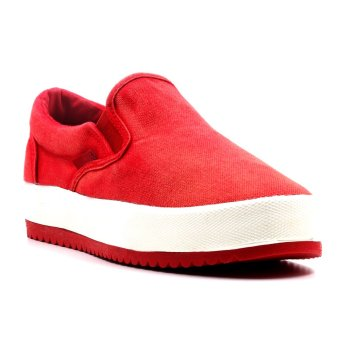 New York Sneakers Mia Slip On Shoes(RED)