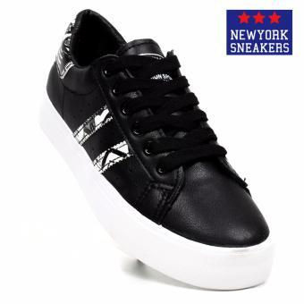 6f7d0e56d1cc02 ☉ Comment New York Sneakers Mingkuang Low Cut Shoes K2185(BLACK ...