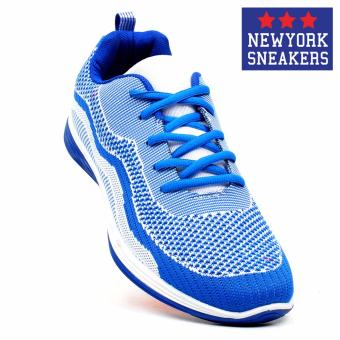 New York Sneakers Morven Rubber Shoes(BLUE/WHITE)