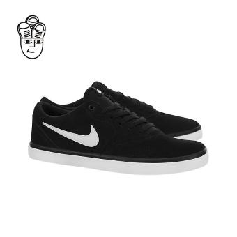 Nike SB Check Solarsoft Skateboard Shoes Black / White 843895-001 -SH
