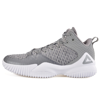 Peak breathable mesh men to help in autumn shoes basketball shoes (Silver)