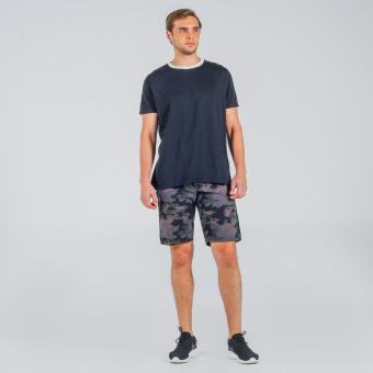 Penshoppe Mid Rise Chino Shorts With Drawstring (Gray)