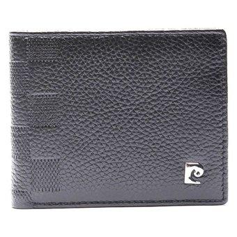 pierre cardin genuine leather wallet black lazada ph