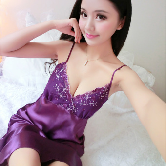 Princess student LOOESN pajamas lingerie (09 purple)
