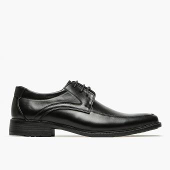 Salvatore Mann Iplos Derby School Shoes (Black)