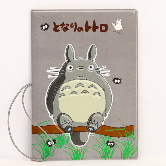 Sets multi-functional documents bag passport cover (Totoro)