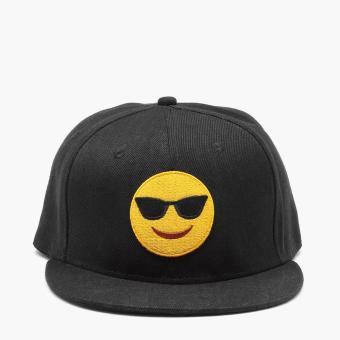 SM Accessories Mens Cool Emoji Snap Back Cap