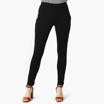 SM Woman Cut and Sew Jeggings (Black)