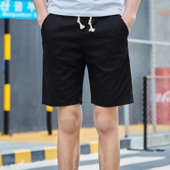 Summer Men Sport Fashion Casual Shorts-Black - (Intl)
