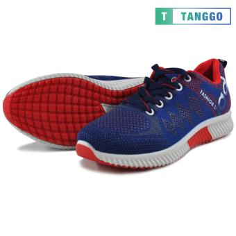 Tanggo Fashion Sneakers Women's Rubber Shoes 308A (navy blue/red)