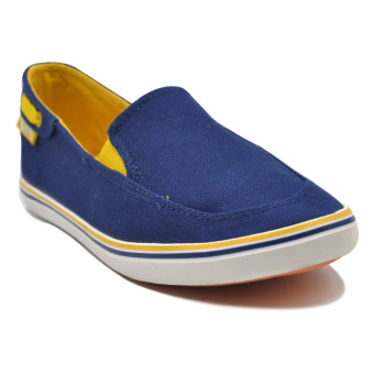 Tanggo Tyler Lightweight Breathable Slip-Ons Men's Rubber ShoesCasual Sneakers (navy blue)