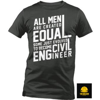 The Builder Apparel - ALL MEN - Civil Engineering Shirt by XtremeDesigns