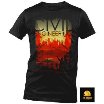 The Builder Apparel - Art and Science - Civil Engineering Shirt byXtreme Designs