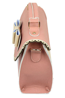 Velishy Handbags Tote Leather Bag Pink - picture 2