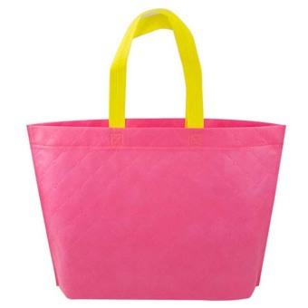 Velishy Shopping Bag Eco Travel Reusable Bags Pink - picture 2