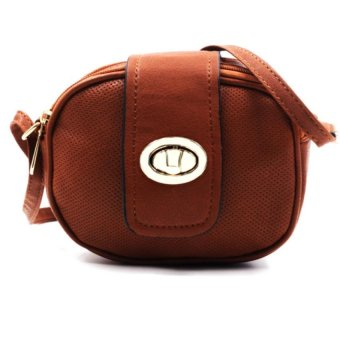 Vintage Paris Rue Cross Body Sling Bag (Brown) | Lazada PH