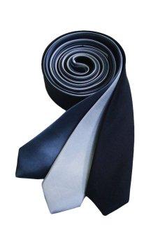 Well Suited Plain Slim Necktie Combo 3