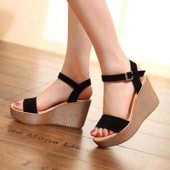Elegant  Flops High Wedge Platform Pumps Shoes Sandals Size US5US85  EBay
