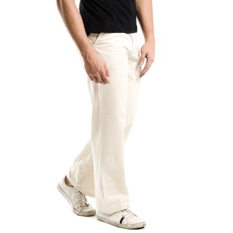 Wrangler Men's Chino Pants (Free Stone)