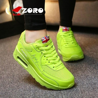 ZORO Women Sneakers Breathable Running Shoes Sport Shoes For Women Outdoor Sneakers Sport Athletic Sneakers Sukan Wanita (Green) - intl