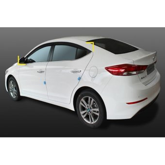 2016 2017 All New Elantra Door visor rain visor sun visor