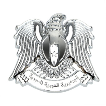 3D Eagle Emblem Car Stickers and Decals Auto Sticker Metal Badge Personalized Car-styling - intl