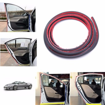 4m Small D Car Door Rubber Weather Seal Strip EPDM Noise InsulationWeatherstrip - intl