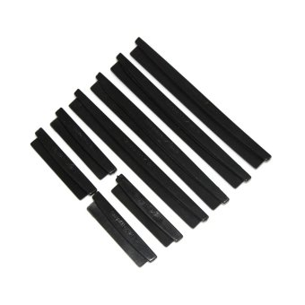 8pcs Car Door Edge Guards Trim Protection Strip Scratch Anti-rubWith Adhesive - intl